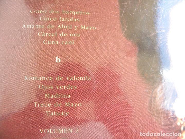Discos de vinilo: ISABEL PANTOJA -LA CANCION ESPAÑOLA -DOBLE LP 1990 - Foto 4 - 62107100