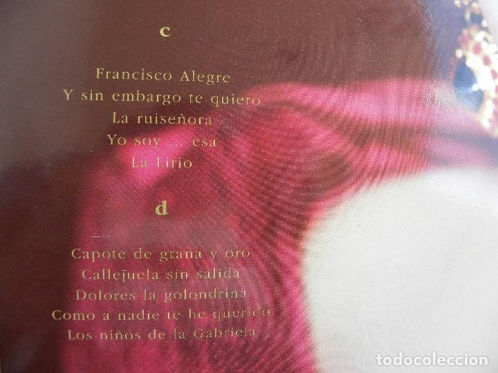 Discos de vinilo: ISABEL PANTOJA -LA CANCION ESPAÑOLA -DOBLE LP 1990 - Foto 5 - 62107100