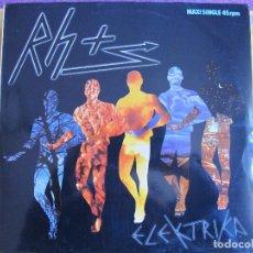 Discos de vinilo: MAXI - RH+ - ELEKTRIKA / ALAS PLATEADAS (SPAIN, MERCURY RECORDS 1984). Lote 62110472