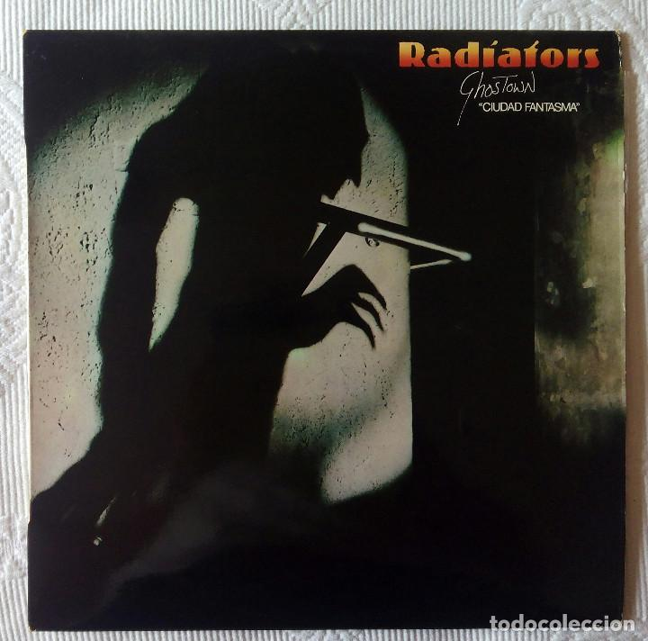 RADIATORS, THE - GHOSTOWN CIUDAD FANTASMA (MOVIEPLAY) LP ESPAÑA - ENCARTE (Música - Discos - LP Vinilo - Punk - Hard Core)