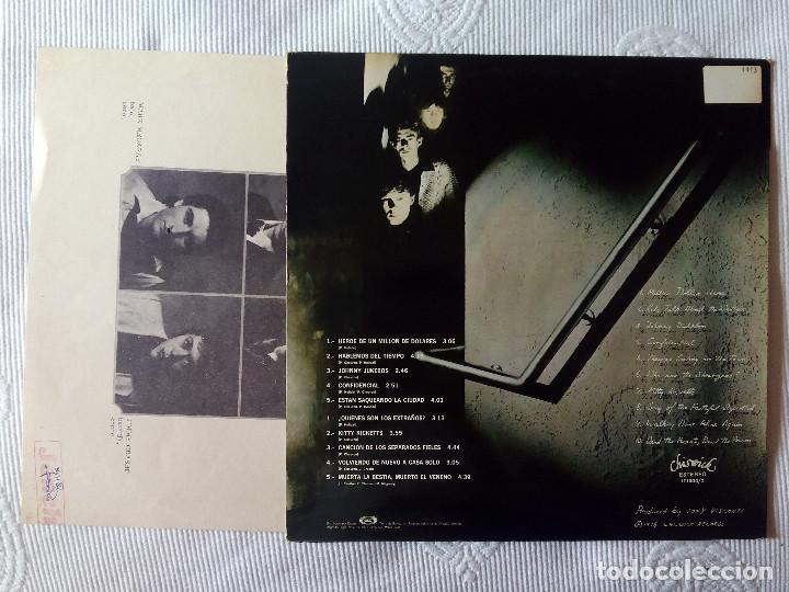Discos de vinilo: RADIATORS, THE - GHOSTOWN CIUDAD FANTASMA (MOVIEPLAY) LP ESPAÑA - ENCARTE - Foto 2 - 62110764