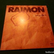 Discos de vinilo: RAIMON - EL RECITAL DE MADRID - DOBLE LP PORTADA ABIERTA - MOVIEPLAY 1976. Lote 62117928