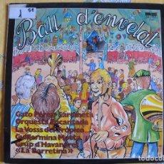Discos de vinilo: LP - BALL D'ENVELAT - VARIOS (SPAIN, BELTER 1981. Lote 62118828