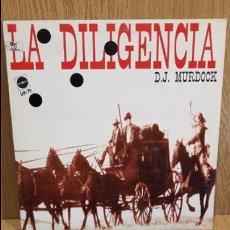 Discos de vinilo: D.J. MURDOCK. LA DILIGENCIA. MAXI SG/ MAX MUSIC - 1994 / MAKINA. / MBC. ***/***. Lote 62123808
