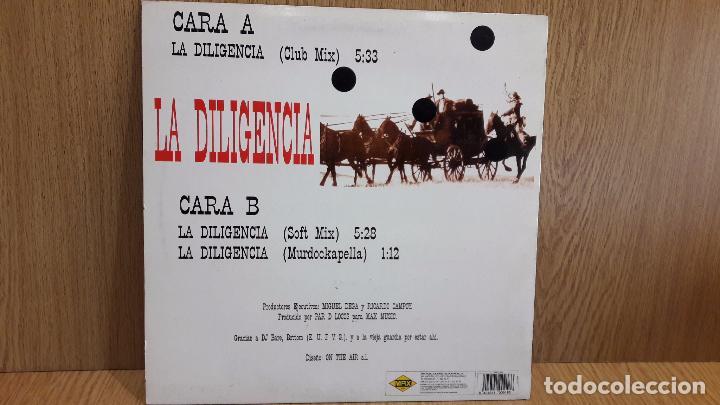 Discos de vinilo: D.J. MURDOCK. LA DILIGENCIA. MAXI SG/ MAX MUSIC - 1994 / MAKINA. / MBC. ***/*** - Foto 2 - 62123808