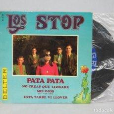 Discos de vinilo: EP. PATA PATA +3. LOS STOP. Lote 62125836