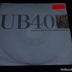 Discos de vinilo: UB40 ( THE WAY YOU DO THE THINGS YOU DO - SPLUGEN ) 1989-GERMANY SINGLE45 VIRGIN. Lote 62133612
