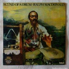Discos de vinilo: RALPH MACDONALD, SOUND OF A DRUM (RCA) LP PROMOCIONAL ESPAÑA. Lote 62141080