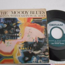 THE MOODY BLUES-NIGHTS IN WHITE SATIN SINGLE 1967