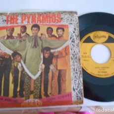 Discos de vinilo: THE PYRAMIDS-SINGLE MEXICAN MOONLIGHT- 1968. Lote 62142532