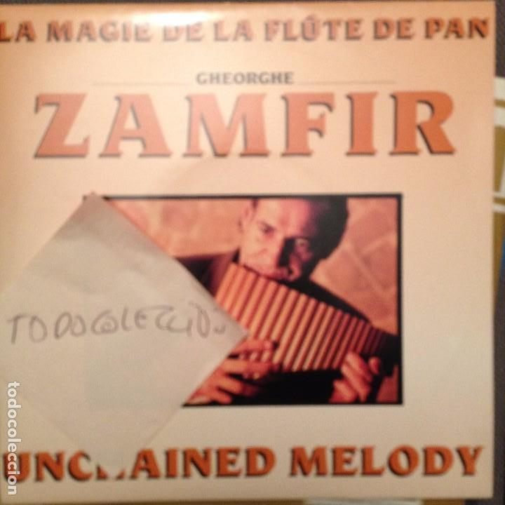 GHEORGHE ZAMFIR, UNCHAINED MELODY / YIDDISH MAMA , FLUTE DE PAN PHONOGRAM 1991 (Música - Discos - Singles Vinilo - Étnicas y Músicas del Mundo)