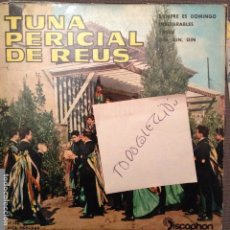 Discos de vinilo: REUS TUNA PERICIAL DE REUS SIEMPRE ES DOMINGO/YASSU + 2 EP DISCOPHON 1962 ALGUERO,GUIJARRO,NAVARONE. Lote 62080428