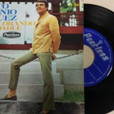 Discos de vinilo: MARCO ANTONIO VAZQUEZ -TE VI LLORANDO -SINGLE 1969 -IMPECABLE. Lote 62171956