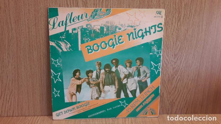 Discos de vinilo: LA FLEUR. BOOGIE NIGHTS. SPECIAL REMIX. MAXI SG / CFE - 1983 / MBC. ***/*** - Foto 2 - 62176440