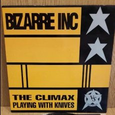 Discos de vinilo: BIZARRE INC. THE CLIMAX. MAXI SG / VINYL SOLUTION-UK - 1991 / MBC. ***/***. Lote 62176952