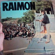 Discos de vinilo: LP RAIMON CANTAUTOR ESPAÑOL. Lote 62178876