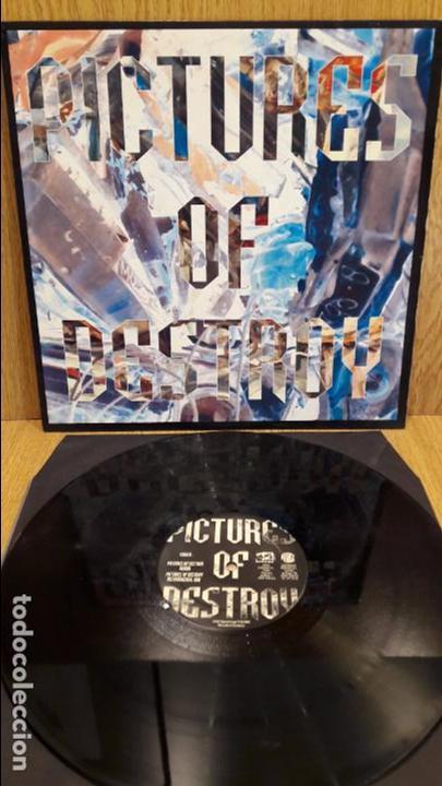 PICTURES OF DESTROY. MAXI SG / Z DISCOS - 1994 / MBC. ***/*** (Música - Discos de Vinilo - Maxi Singles - Techno, Trance y House)