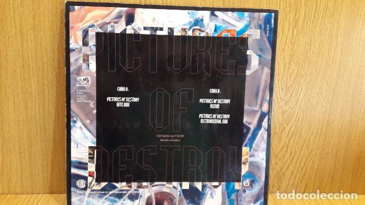 Discos de vinilo: PICTURES OF DESTROY. MAXI SG / Z DISCOS - 1994 / MBC. ***/*** - Foto 2 - 62179484