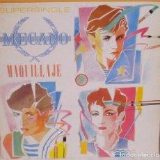 Discos de vinilo: MECANO - MAQUILLAJE C B S - 1982. Lote 62195680