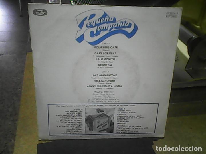 Discos de vinilo: PEQUEÑA COMPAÑÍA- TEQUILA Y RON - Foto 2 - 62213524