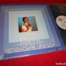 Discos de vinilo: FAUSTO PAPETTI LP 1970 EKIPO/AUDIO FIDELITY EDICION ESPAÑOLA SPAIN. Lote 62250848