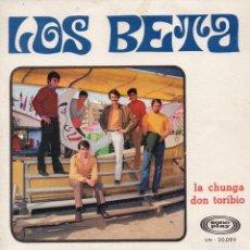 Discos de vinilo: BETA, SG, LA CHUNGA + 1, AÑO 1968. Lote 62264728