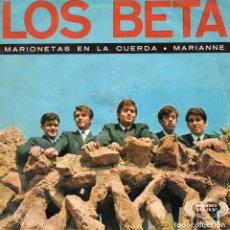 Discos de vinilo: BETA, LOS, SG, MARIONETAS EN LA CUERDA + 1, AÑO 1967. Lote 62265544