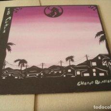 Discos de vinilo: RED AUNTS LP GHETTO BLASTER EPITAPH ORIGINAL USA 1998 + FUNDA INTERIOR. Lote 62272500