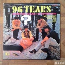 Discos de vinilo: QUESTION MARK & THE MYSTERIANS - 96 TEARS - REED. 1º LP 1966 - CARPETA NM VINILO NM. Lote 62273560