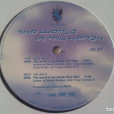 Discos de vinil: SNAP! FEAT. SUMMER - THE WORLD IN MY HANDS - 1995. Lote 62274388