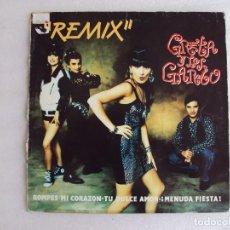 Discos de vinilo: GRETA Y LOS GARBO, REMIX. MAXI SINGLE EDICION ESPAÑOLA FONOMUSIC 1991. Lote 62278932