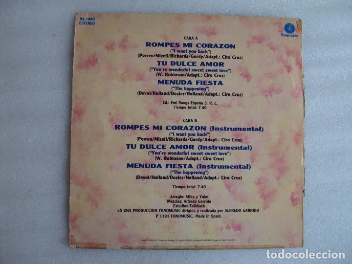 Discos de vinilo: GRETA Y LOS GARBO, REMIX. MAXI SINGLE EDICION ESPAÑOLA FONOMUSIC 1991 - Foto 3 - 62278932