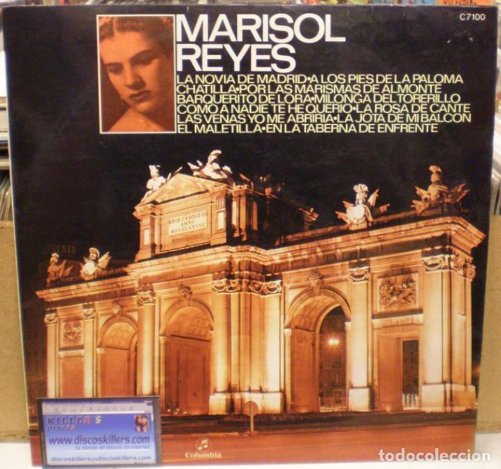 MARISOL REYES - LP RECOPILATORIO DEL SELLO COLUMBIA (C 7100) - 1971 (Música - Discos - LP Vinilo - Flamenco, Canción española y Cuplé)