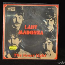 THE BEATLES - LADY MADONNA / THE INNER LIGHT - SINGLE