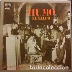 Discos de vinilo: HUMO - EL SALER, CANCIONES SOBRE UNA EPOCA (MOVIEPLAY – 17.1182/0 LP, GATEFOLD,1977+HOJA PROMO). Lote 62299180