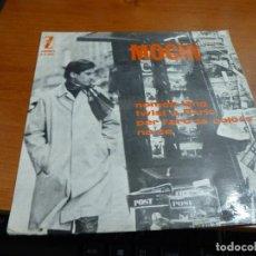 Discos de vinilo: MOCHI, NOMES FANG, TWIST A PARIS, PER L'ARC DE COLORS, NO SE, SINGLE EN CATALAN DE 1965. Lote 62307660