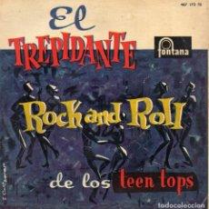 Discos de vinilo: TEEN TOPS - ROCK AND ROLL, EP, EL ROCK DE LA CÁRCEL + 3, AÑO 1960. Lote 62331224