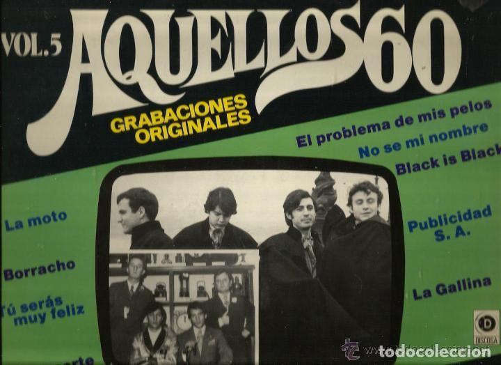 LP AQUELLOS 60 VOLUMEN 5 (Música - Discos - LP Vinilo - Grupos Españoles 50 y 60)