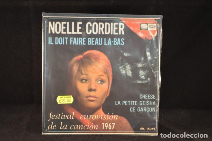 NOELLE CORDIER - IL DOIT FAIRE BEAU LA BAS +3 - EP (Música - Discos de Vinilo - EPs - Festival de Eurovisión)