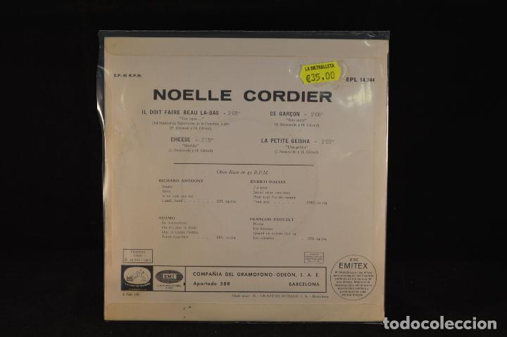 Discos de vinilo: NOELLE CORDIER - IL DOIT FAIRE BEAU LA BAS +3 - EP - Foto 2 - 62336368