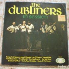Discos de vinilo: LP. THE DUBLINERS. IN SESSION. AÑO 1964. Lote 62345080
