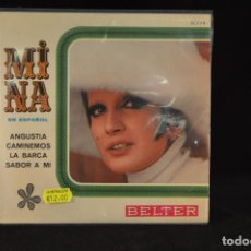 Discos de vinilo: MINA - ANGUSTIA +3 - EP. Lote 206994588