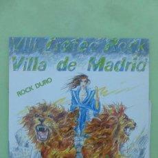 Discos de vinilo: FURIA ANIMAL (3º PREMIO TROFEO ROCK VILLA MADRID) - BUSCAME / LOS FUERTES VENCERAN - 1985 - NUEVO. Lote 62347792