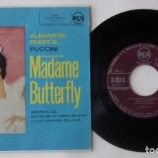 Discos de vinilo: FRAGMENTOS DE MADAME BUTTERFLY - PUCCINI. Lote 62364880