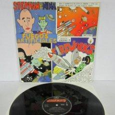 Discos de vinilo: STEPHAN & NINA - FUEGOS ARTIFICIALES / FIREWORKS - MAXI - MERCURY 1984 SPAIN - SUPER RARE - N MINT. Lote 62387784