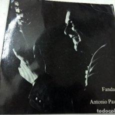 Discos de vinilo: FANDANGO POR ANTONIO PAULINO-A LA GUITARRA PEPE EL PACHANGUERO-SINGLE-3 TEMAS-TURICAPHON-17-742- N.. Lote 62389412