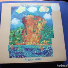 Discos de vinil: BLUE AEROPLANES YR.OWN WORLD MAXI UK 1991 PDELUXE. Lote 62402332