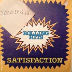 Discos de vinilo: ROLLING HITS - SATISFACTION MEDLEY + PAINT IT BLACK + JUMPIN' JACK FLASH...COVER. Lote 62418312