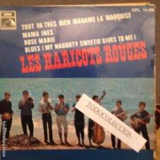 Discos de vinilo: LES HARICOTS ROUGES - TOUT VA TRES BIEN MADAME LA MARQUISE - MAMA INES + 2 EMI 1968 ESPAÑA. Lote 62423772
