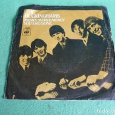 Discos de vinilo: BUSCADO SINGLE THE BUCKINGHAMS 1967 MERCY MERCY MERCY /YOU ARE GONNA POP SOUL SG VINILO. Lote 62427292